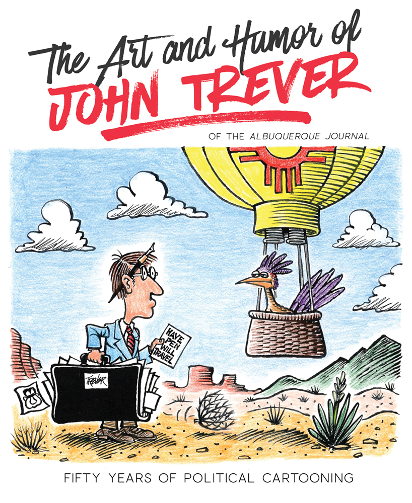 Book Cover of The Art and Humor of John Trever