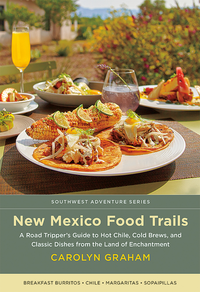 Book Cover of New Mexico Food Trails
