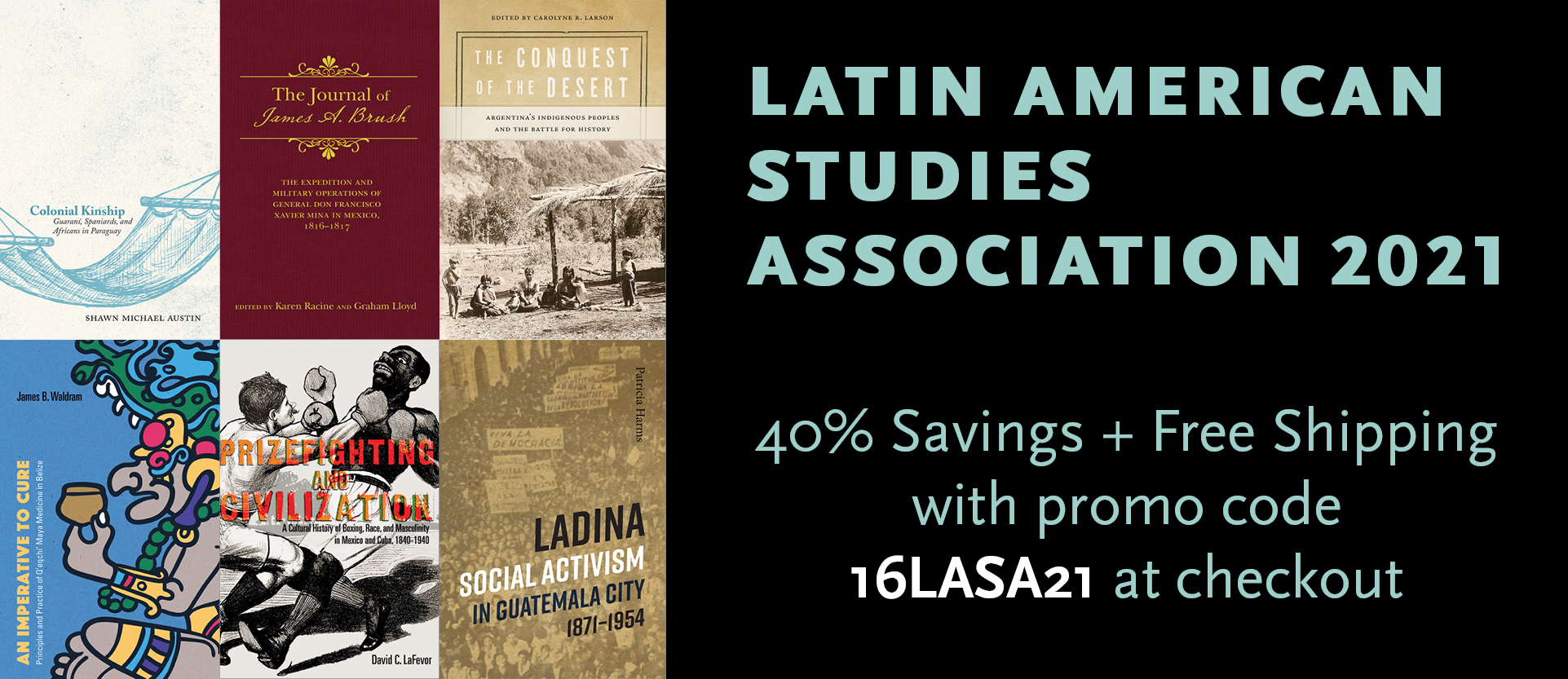 Latin American Studies Association 2021 Banner